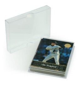 BCW 25-CARD SLIDER BOX - Acrylic (2 pk)