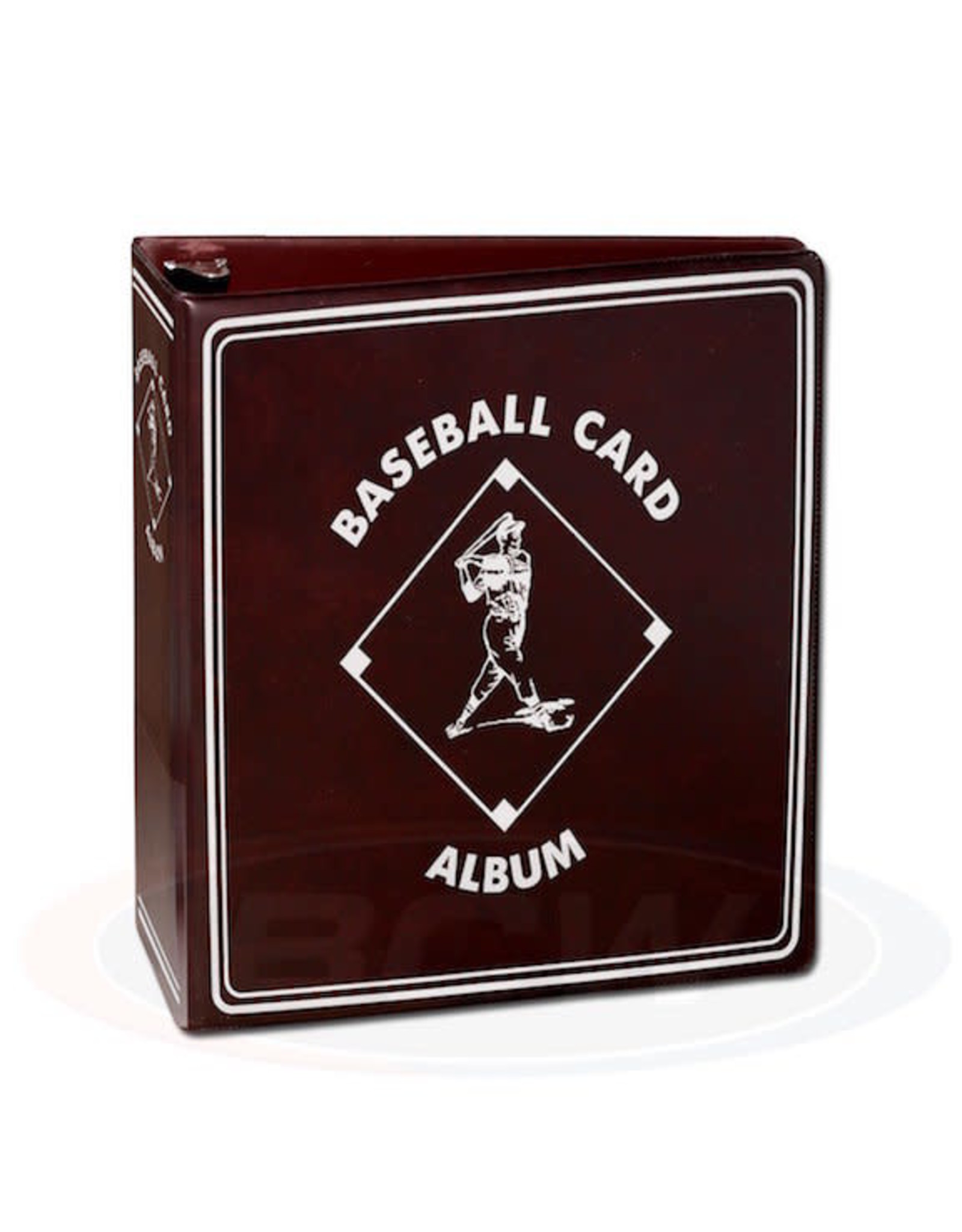 BCW 3- Ring Sports Card Album - Black Baseball