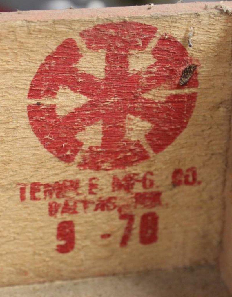 Royal Crown Cola Vintage Wooden Crate, Dallas, 1978