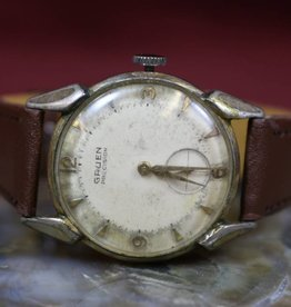 Watch, Gruen, 1950s, Sub-second dial