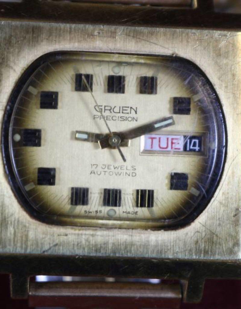 Gruen Square Face watch