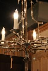 Chandelier, Bamboo Themed, Italian, Handmade
