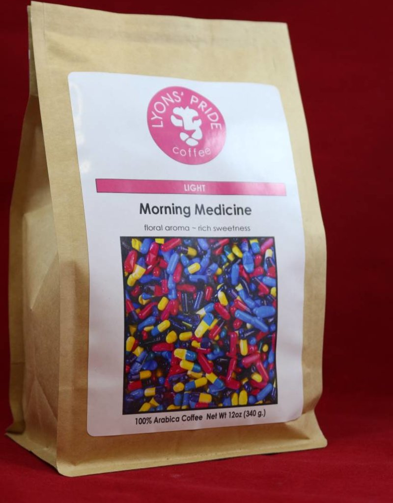 Lyons Pride Coffee, Morning Medicine, Ground