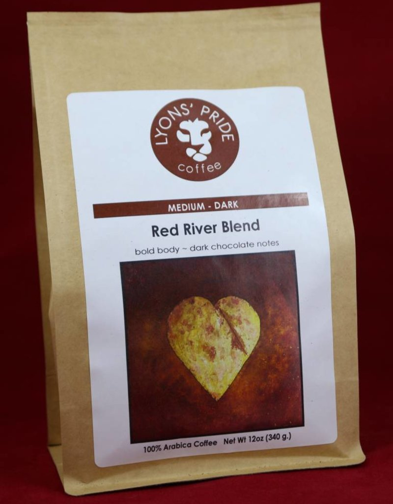 Lyons Pride Coffee, Red River Blend, Ground