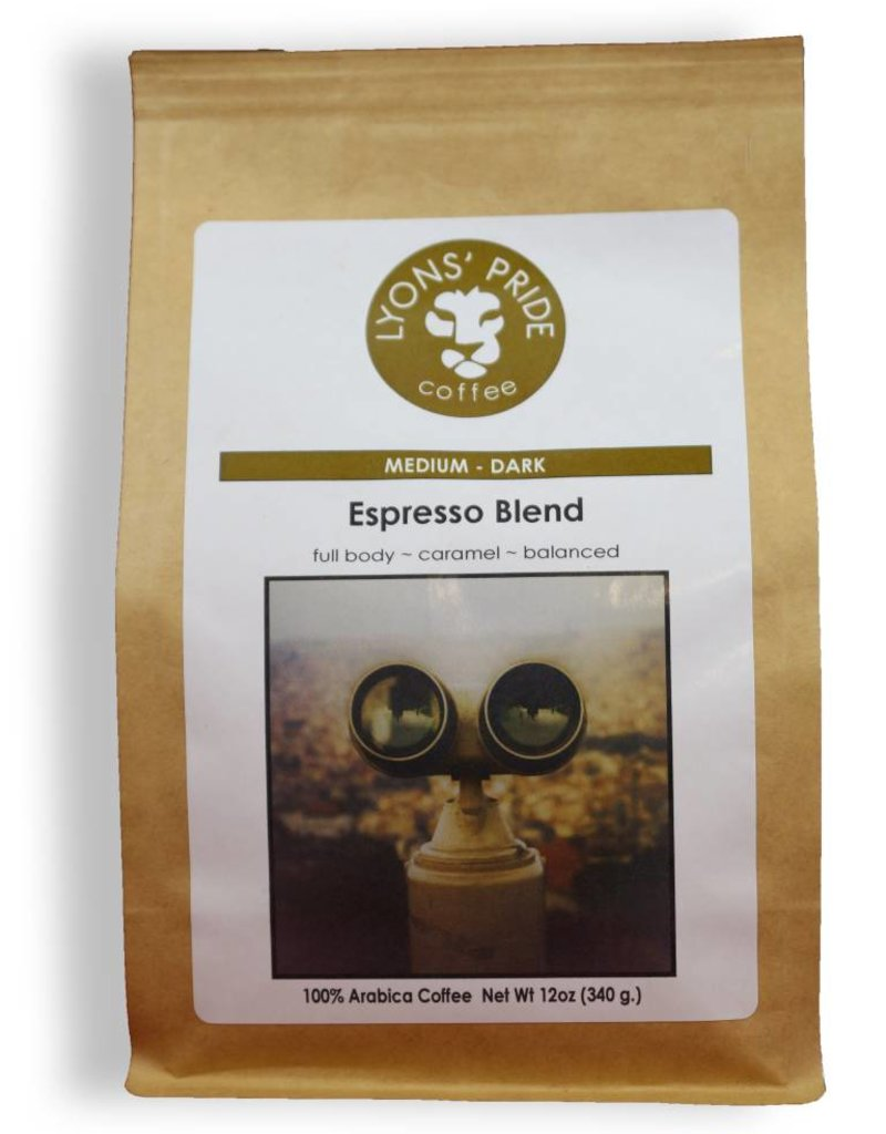 Lyons Pride Coffee, Espresso Blend, Ground