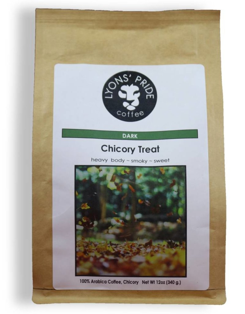 Lyons Pride Coffee, Chicory Treat, Ground