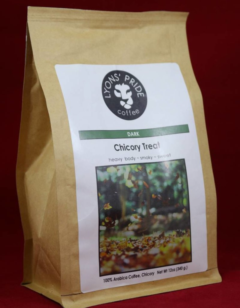 Lyons Pride Coffee, Chicory Treat, Ground