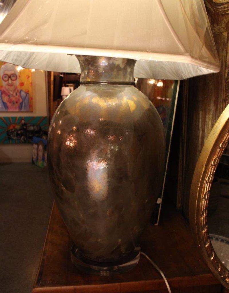 Lamp, Table, Metal, Bronze-tone