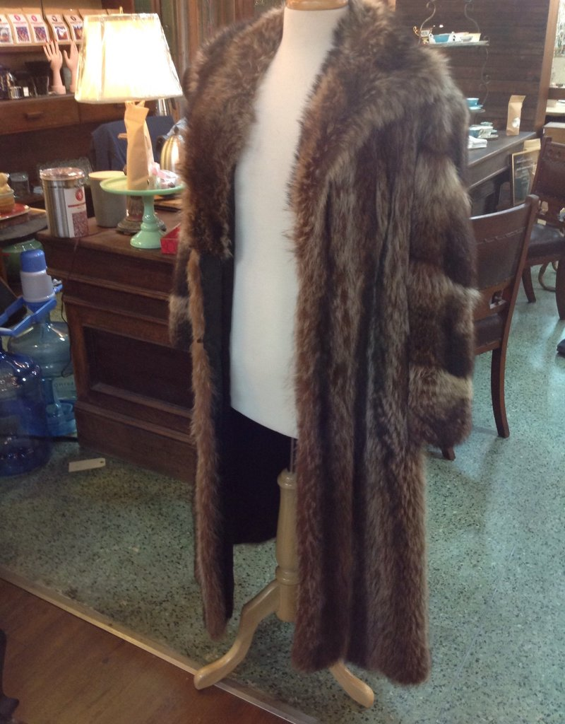 Coat, full length fur, vintage
