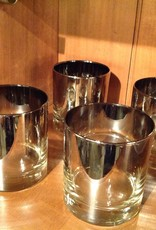 Glass Set, Double Old Fashioned, Smoked, Set of 4