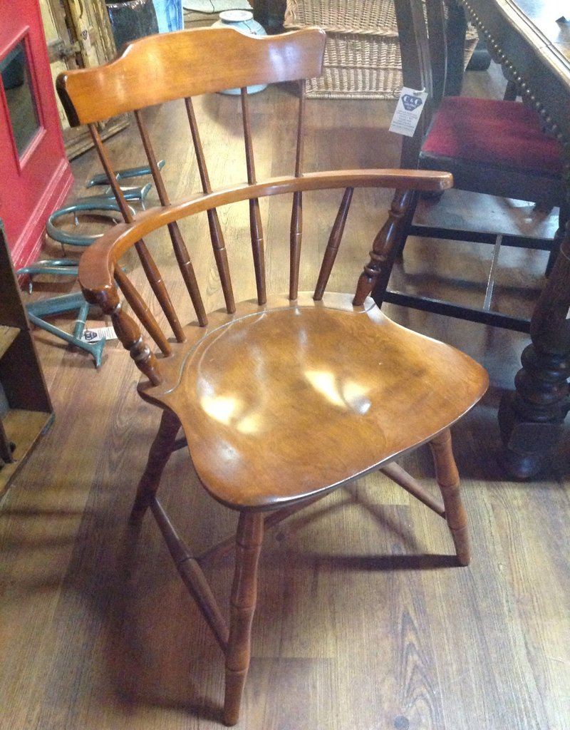 Chair, small, wooden, vintage