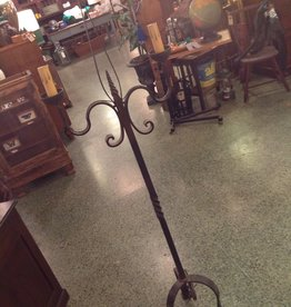 Floor lamp, Wrought Iron, two light