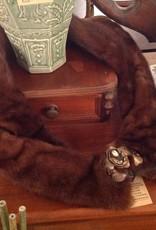 Fur, mink, stole, vintage