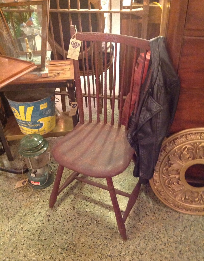 Chair, wooden, antique