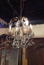 Chandelier, small, vintage, four light