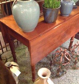 Table, drop leaf, vintage, wooden