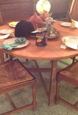 Table, wooden, primitive, vintage