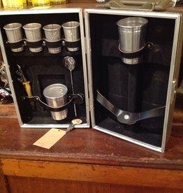 Barware, kit, travel, vintage
