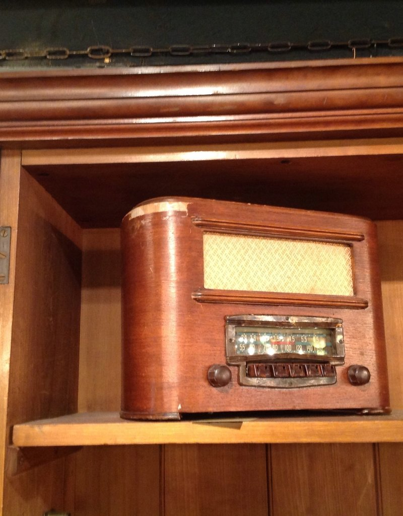 Radio, vintage, tube