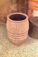 Barrel, small, vintage, metal