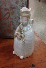 Wine Pot, porcelain, Buddha figure, 1880s Celadon