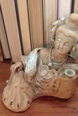 Figurine, mud woman, late 1800s