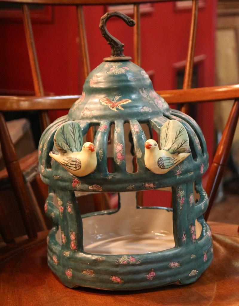 Porcelain Bird Cage