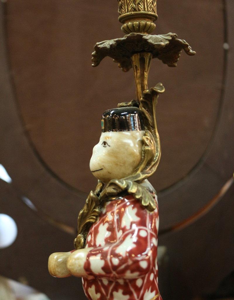 Candlestick, Monkey