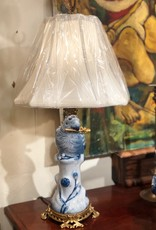 Vintage Parrot Brass Lamp (Pair)