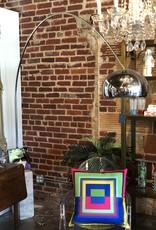Lamp, Floor lamp, Mid-Century Arched Floor Lamp