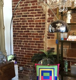 Mid-Century Arched Floor Lamp