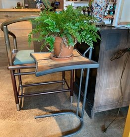 Table, iron, wood Derek Simmons