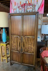 1970's Wooden Armoire