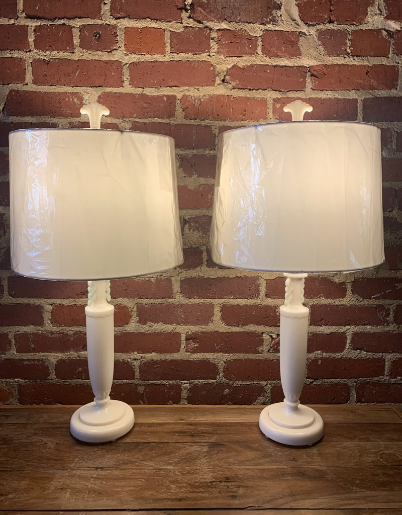 Pair of Aladdin Table Lamps, Buffet Lamp, Shade included, $210 each