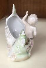 Decor, Ceramic Cherub Planter
