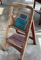 Antique Wooden Step Ladder