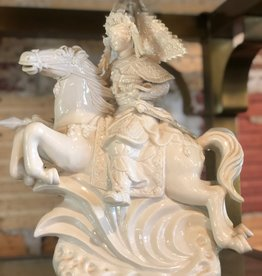 Ceramic, Asian Warrior, *Broken Sword*