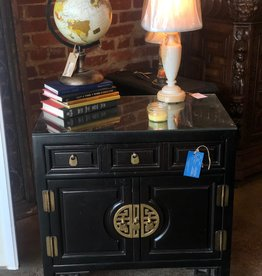 Antique oriental side table