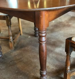 Antique Wooden Round Table