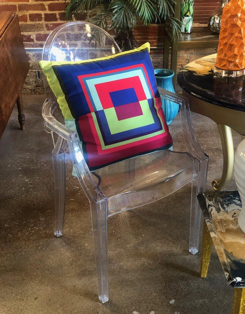 Acrylic Art Studio Chair