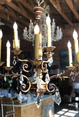 Chandelier, 70's French Transitional