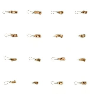 Stranded Stitch Markers - Instructional