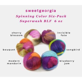 SweetGeorgia SweetGeorgia Fiber SixPack