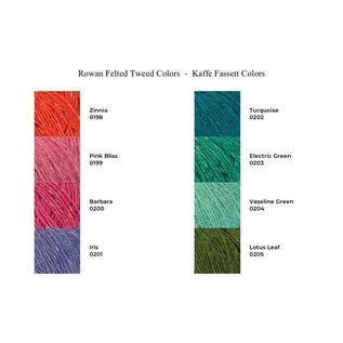 Rowan Rowan Felted Tweed - Ltd Ed Kaffe Fassett Colors