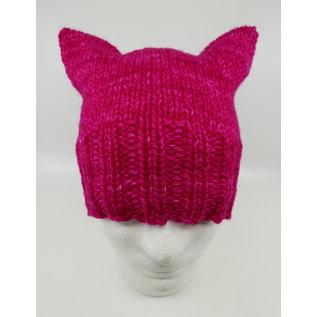 Stranded Bulky Pink Kat Hat Kit