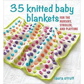 Laura Strutt 35 Knitted Baby Blankets by Laura Strutt