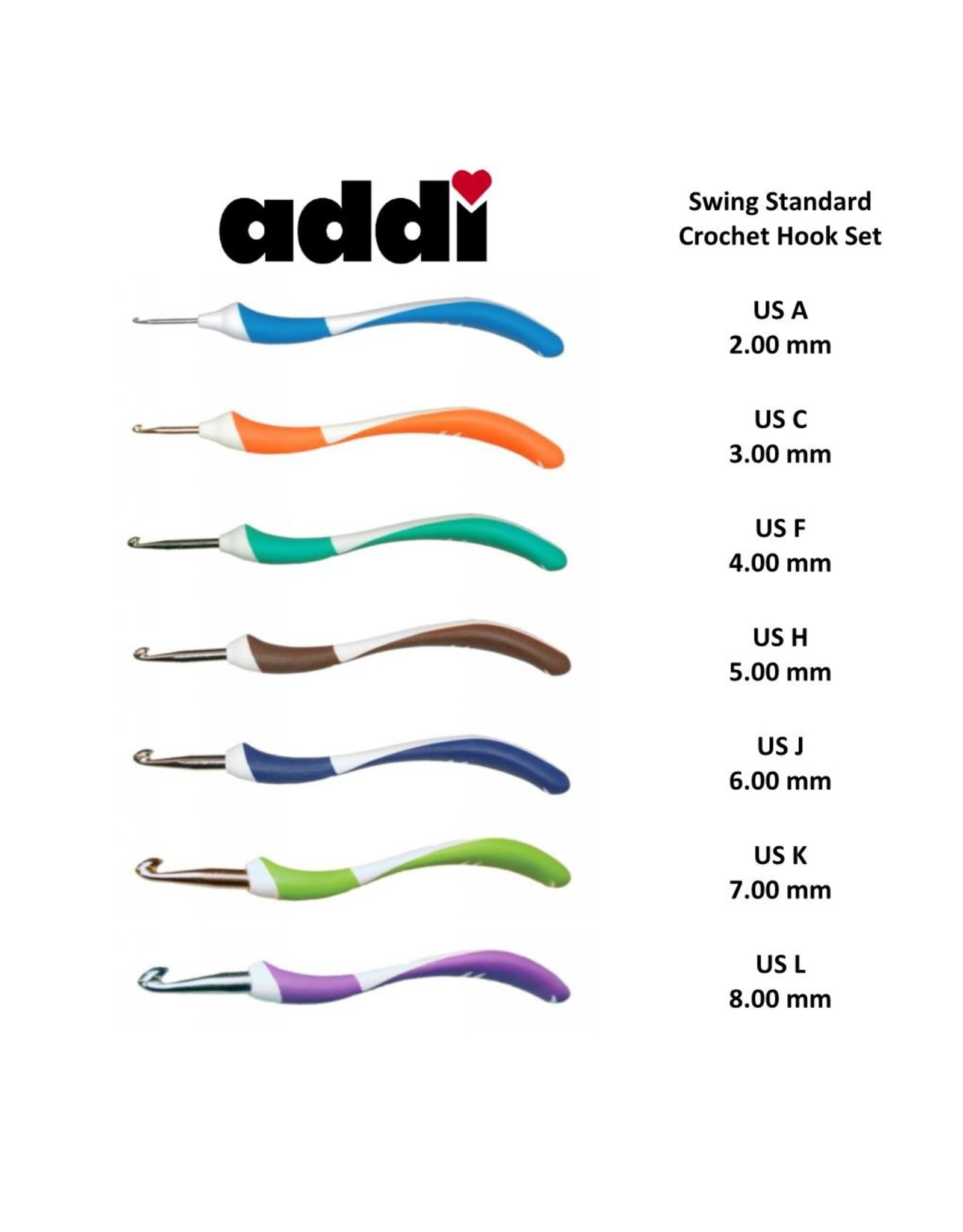 addi addi Swing Crochet Hook Set - Standard
