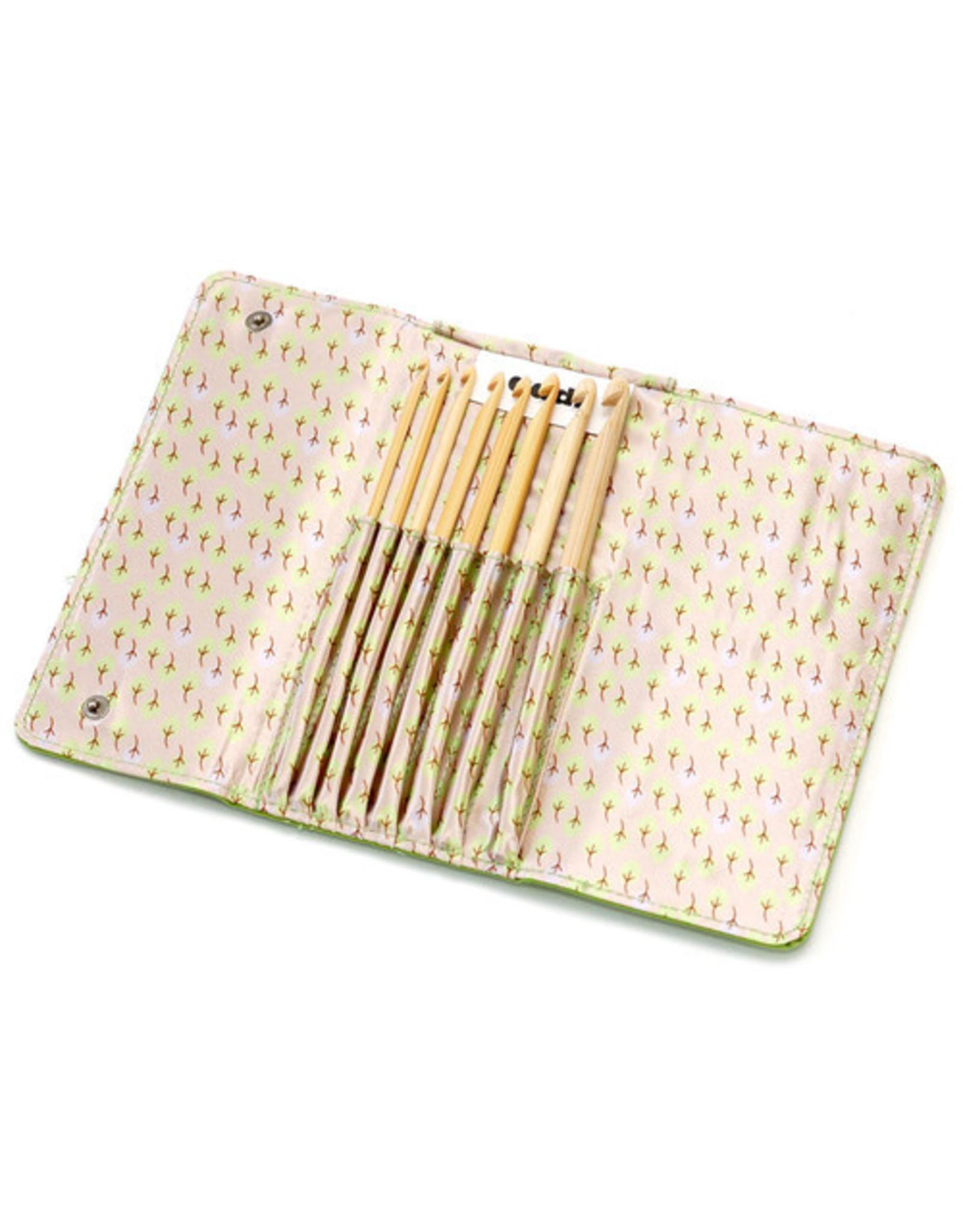 addi addi Click Bamboo Crochet Hook Set (US E-L)