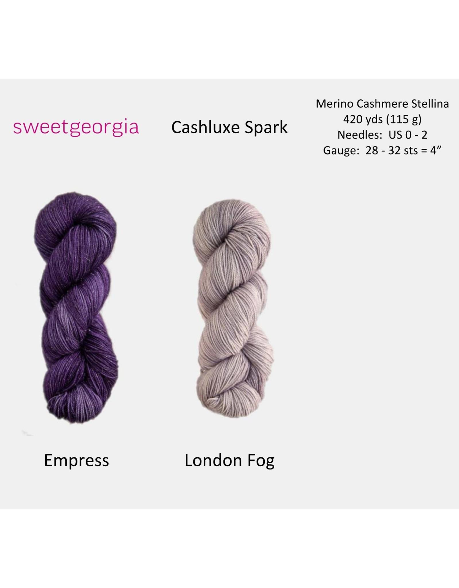 SweetGeorgia SweetGeorgia CashLuxe Spark Yarn