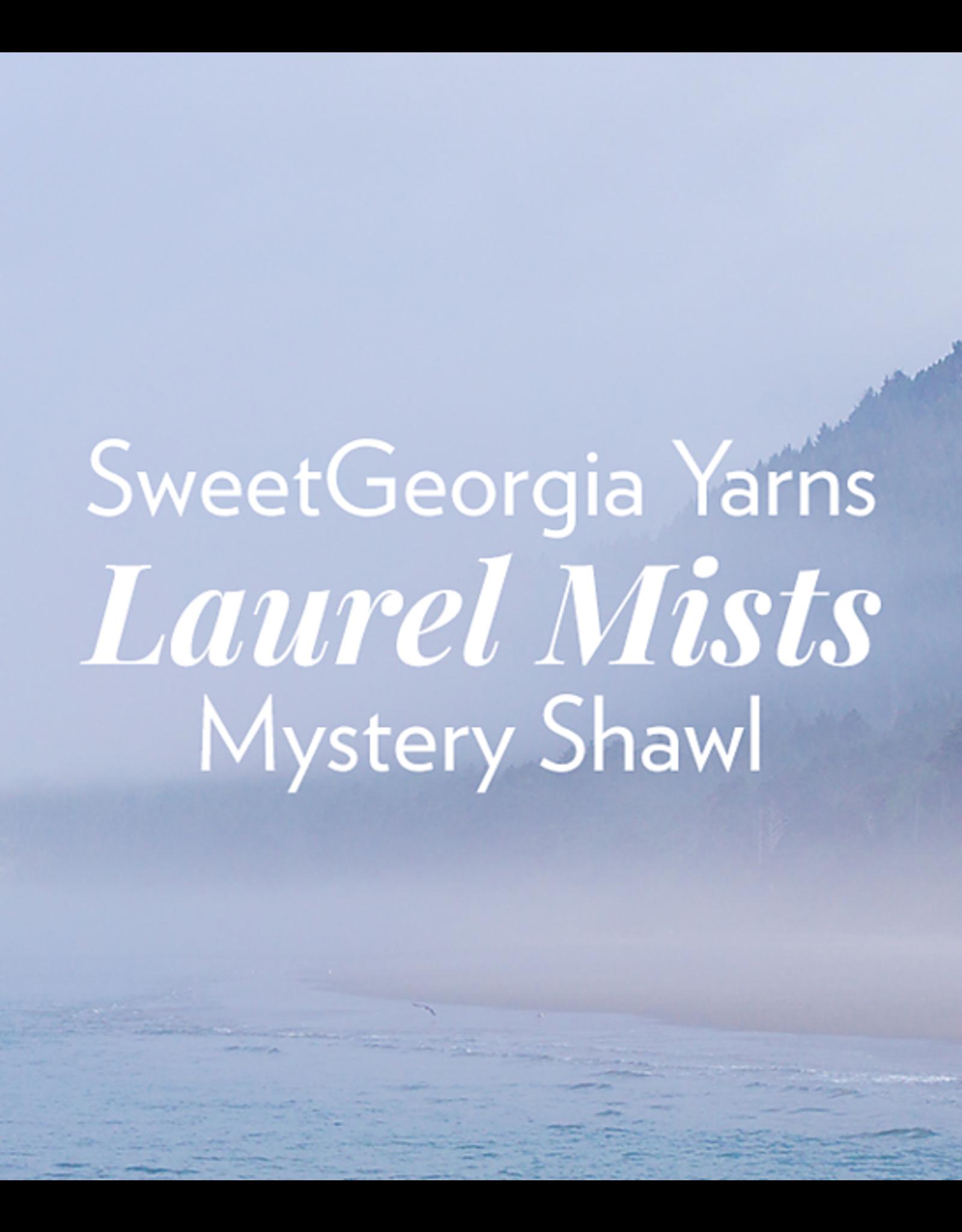 SweetGeorgia Laurel Mists MKAL Kit - Andromeda ToughLoveSock